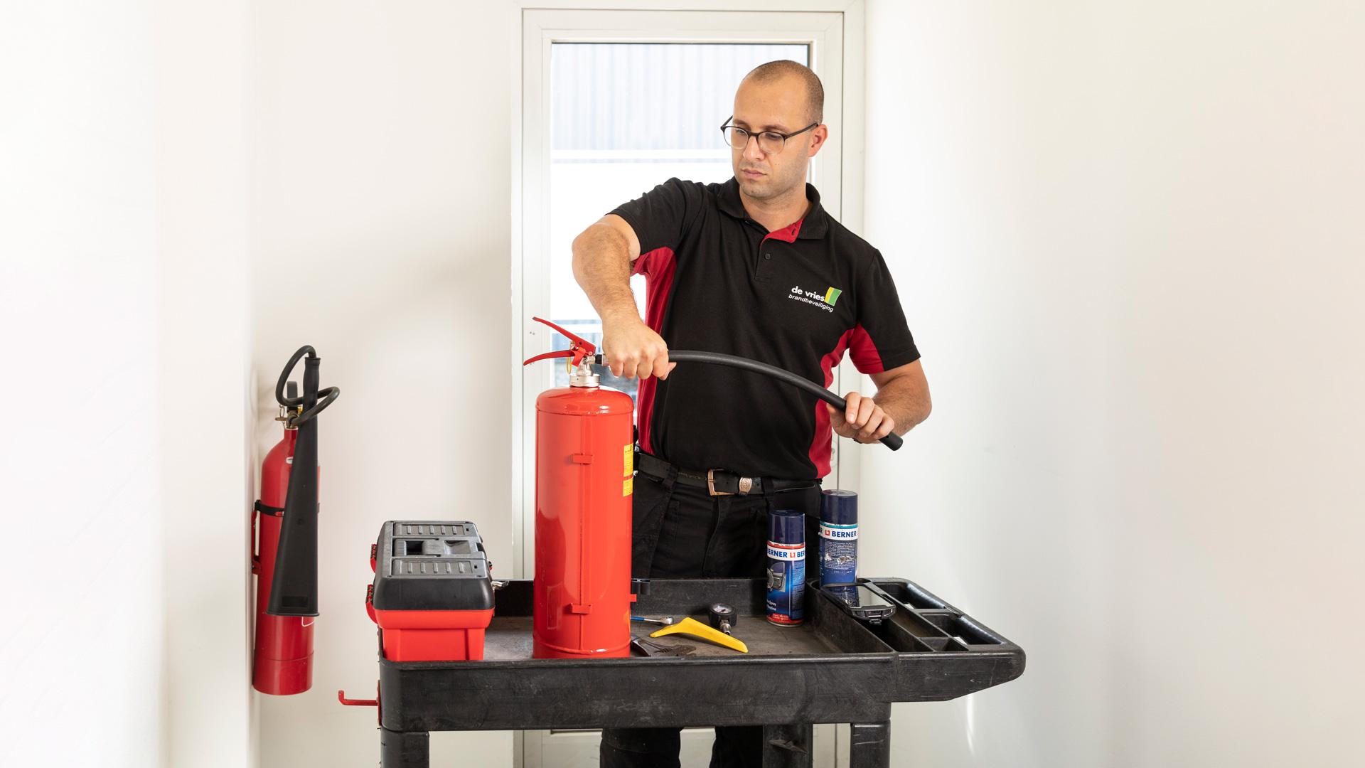 Brandblusser onderhoud 1
