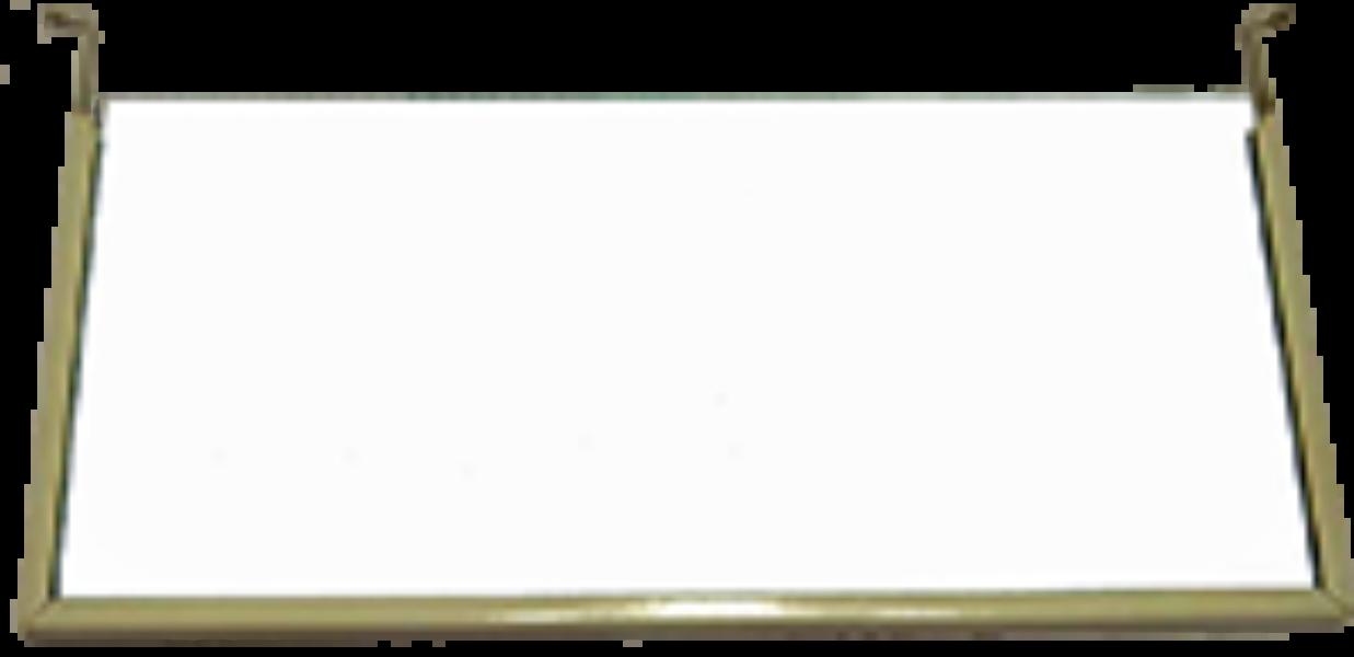 Pictogramplaat blanco met frame ESKALED
